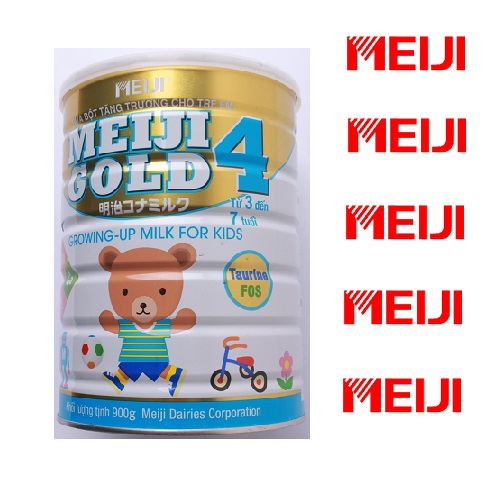 Sữa Meiji Gold 4 Growing Up Mild For Kid 900gr